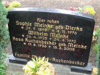 Grabstein Rosa Meinke