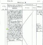 Grundbuchauszug Wittfelde 1852
