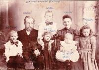 Familie David Kuchenbacker (um 1907)